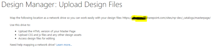 Design Manager In Sharepoint Office Nitesh Patares Blog - Sharepoint design manager