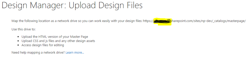 upload design files